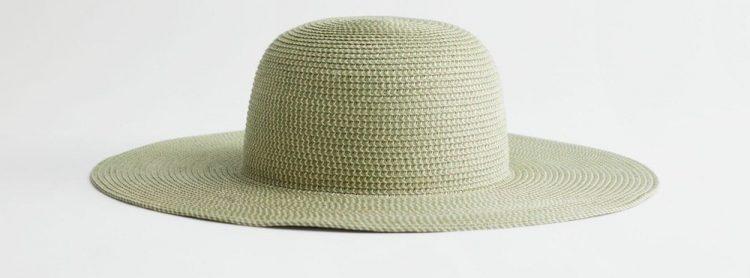 other stories wide brim straw hat