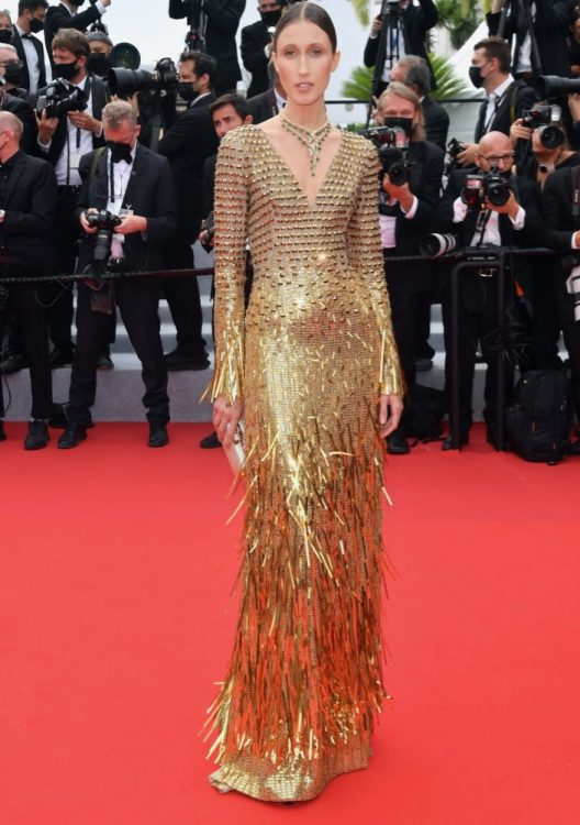 anna cleveland 2021 cannes the french dispatch