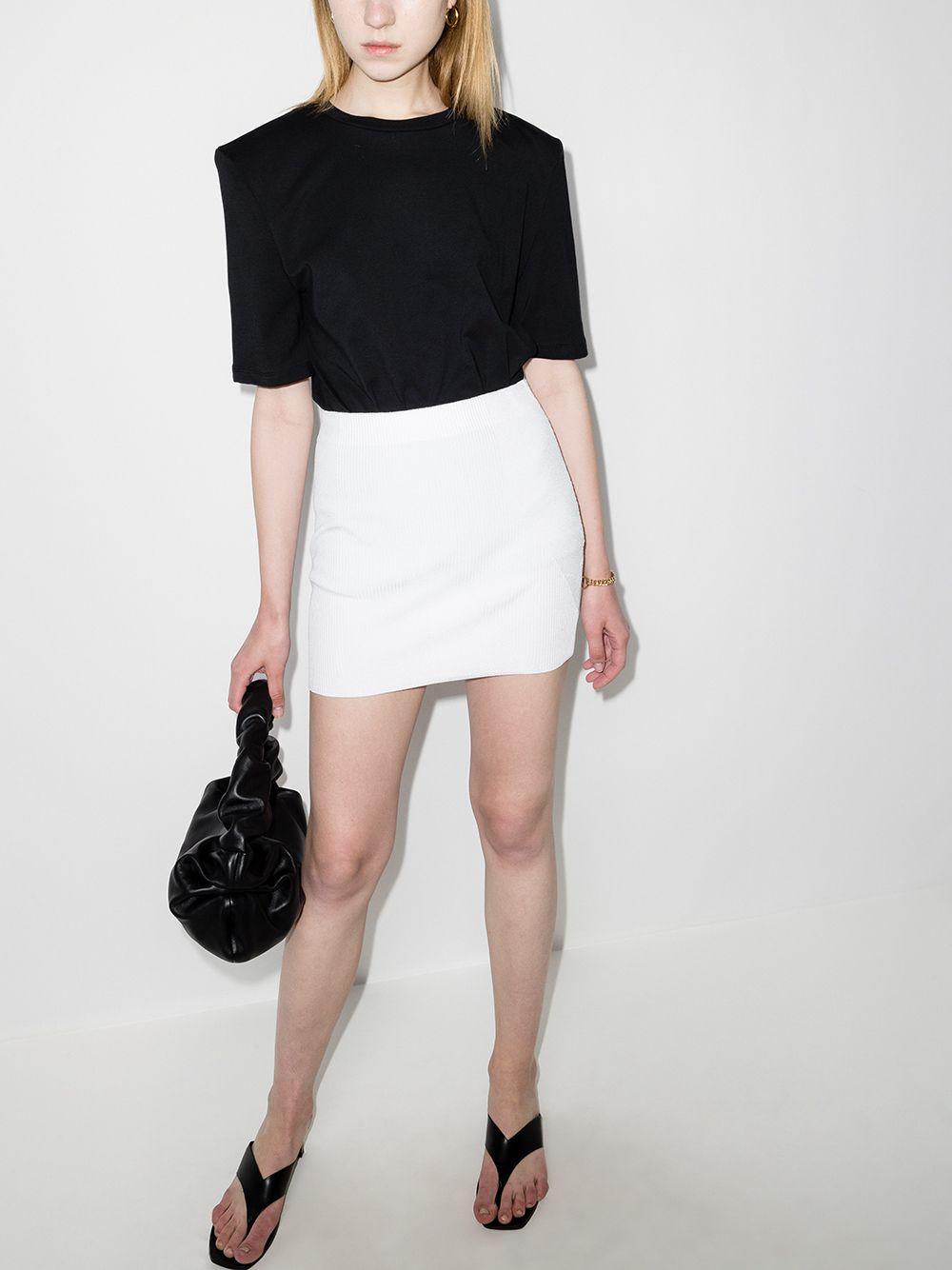 gauge81 fasnia knitted miniskirt