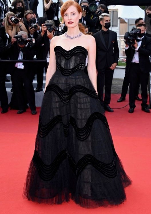 jessica chastain 2021 cannes opening ceremony
