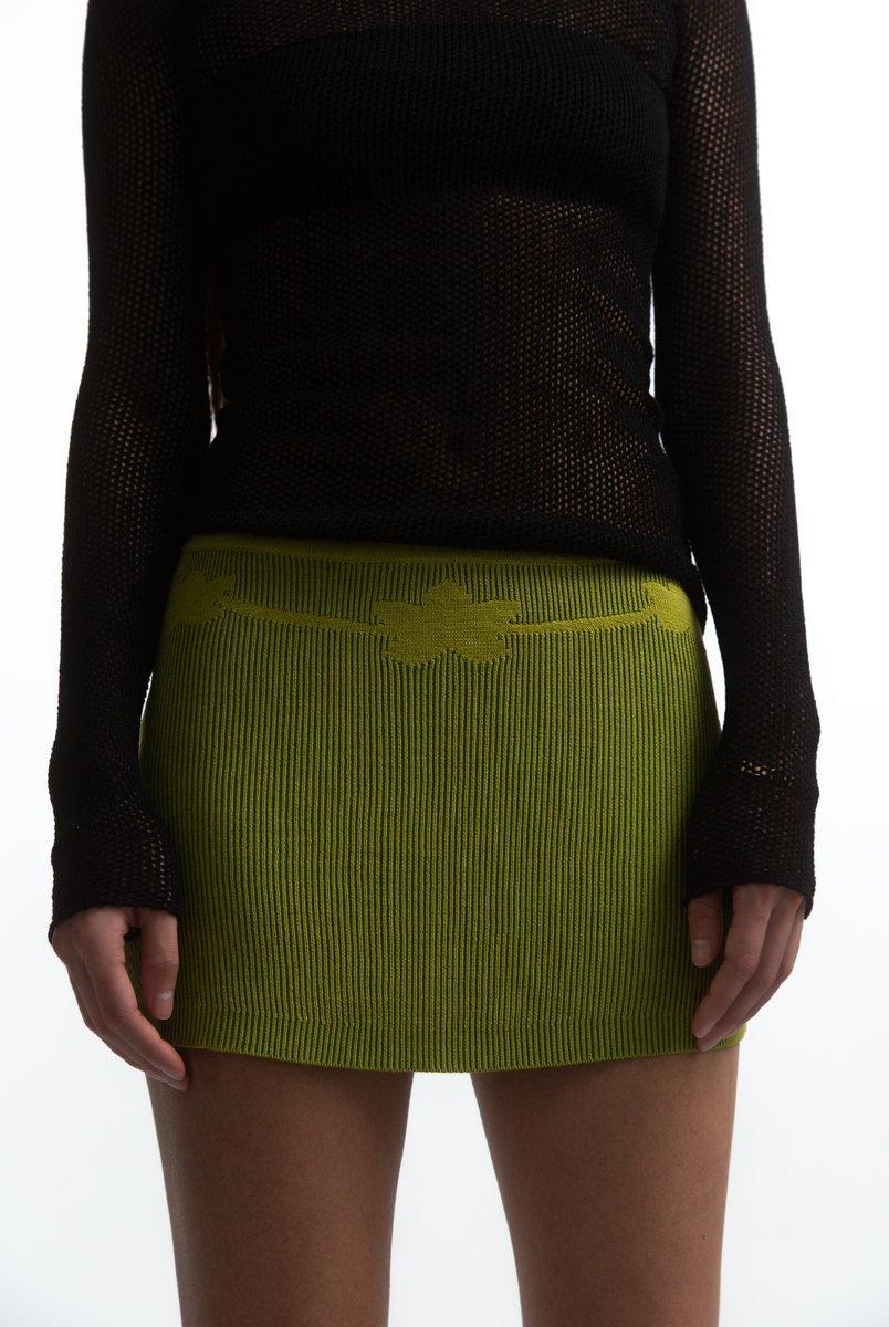 tank air lotus mini skirt
