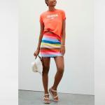 Вязаные мини-юбки - отличный способ перейти от лета к осени