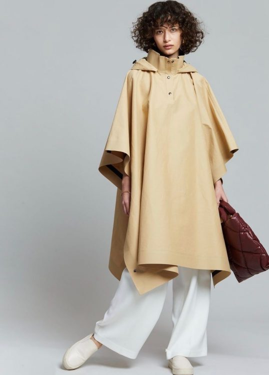 kassl editions trench poncho cape
