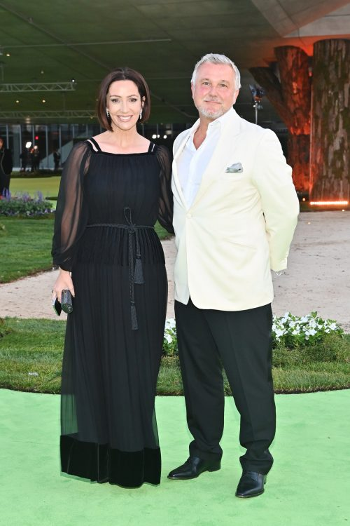 Zoe de Givenchy and Olivier de Givenchy