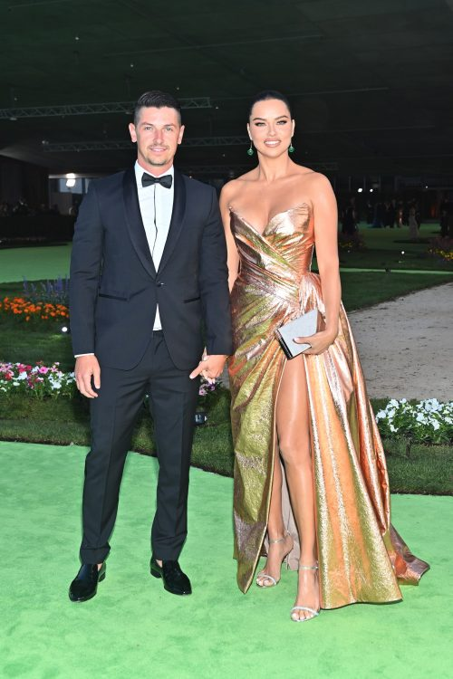 Andre L III and Adriana Lima
