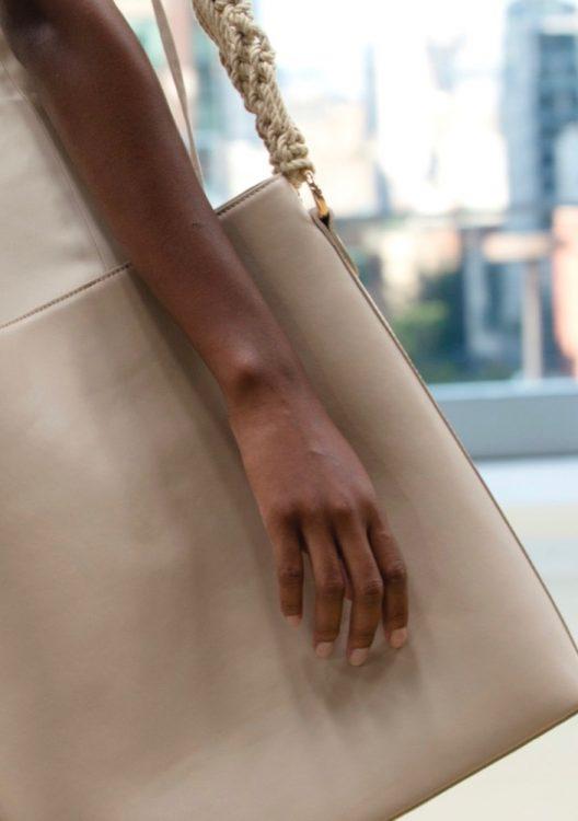 jonathan simkhai spring 2022 beauty neutral nail polish