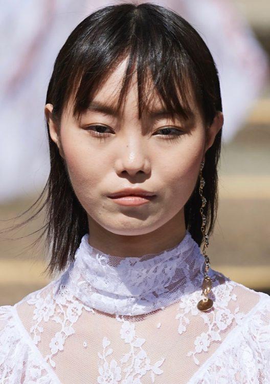 rodarte spring 2022 beauty minimalist makeup