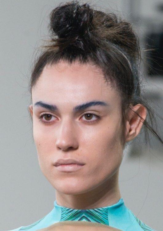 threeasfour spring 2022 beauty blue eyeshadows